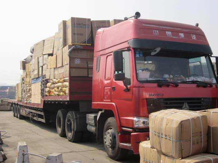 重庆到自贡返空车工地搬家直达快运
